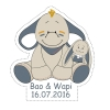 STICKER P.BAO & WAPI 40PCS PN