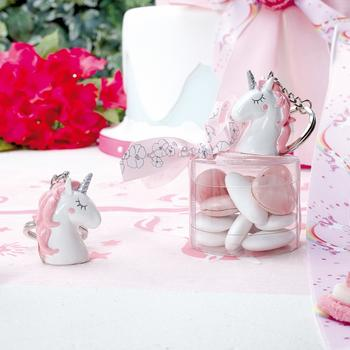 24x licorne pinkie porte clefs bacoma articles mariage for Deco licorne