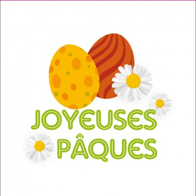 STICKER P.OEUFS MARGUERITE 30 PCS PRIX NET