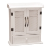 ARMOIRE BLANCHE GRILLAGE