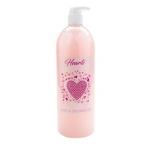 6x 83102 GEL BAIN & DOUCHE ROSE AROME ROSE 1000ML