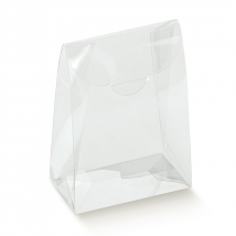 50x TRANSPARENT SACHET PVC RIGIDE